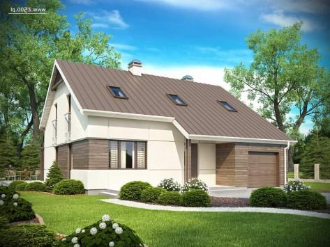 проекты домов с расчетом материалов и работ